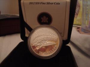 2012 Canadian Praying Mantis Silver Coin