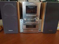 Panasonic SA-PM17 CD Stereo System