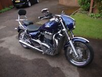 2009 Truimph Thunderbird 1700, superb, only 4,505 miles, every concievable extra. One owner from new