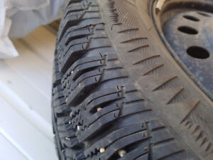 235 65 R17 Winter tires and Rims