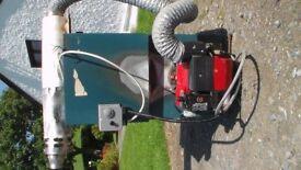 Firebird 50/90 oil boiler with balanced flue
