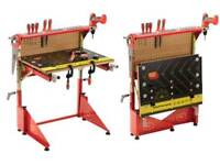 Work bench set with tools (red)