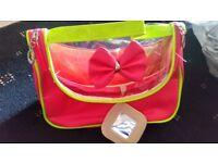 Mini neon bag for ladies/girls