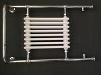 Victoria radiator with heated towel rail