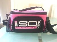 Isolator fitness bodybuilding food bag