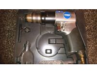 air compressor drill, staple gun and nail finisher job lot