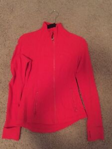 Red Lululemon zip ip