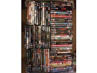 Large DVD bundle (over 140 DVDs) for sale