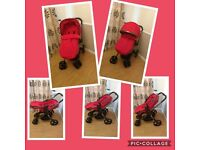 Mothercare Orb Pram/buggy with rain cover, liner and footmuff