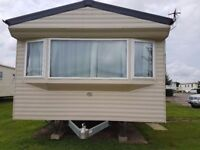 8 berth caravan for hire at cayton bay Scarborough