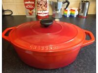 Chasseur Oval cast Iron Casserole Dish