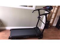 Treadmill (folds upright & manual incline) Great Condition