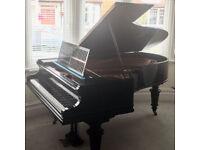 Bechstein Grand Piano Model B ebonised c.1905 restored beautiful