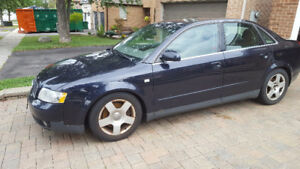 2002 Audi A4 Sedan $800 OR BEST OFFER