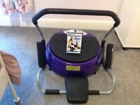 Vibra Disc exercise machine & abs cruncher