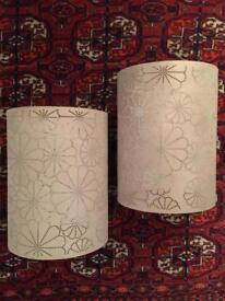 2 lovely lampshades!