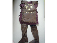 Roman soldier dress up costume - child's size large