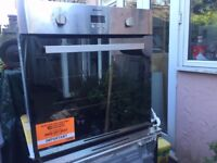 HOTPOINT SHS 33 X S single built in stainless steel electric oven. Hardly used.
