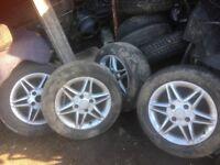 Nissan almera or primera ally wheels