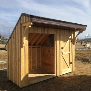 Wood/garden shed