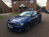 2007 Bmw 320i E92 M Sport Blue - LOW MILES 75K - 320d 323 325 330