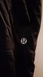 Lululemon yoga studio lined pants, black
