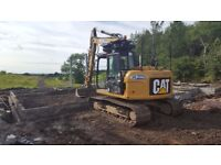 Mini to Heavy Digger Hire and Operator Contractor: Groundworks/Drainage/Landscaping/Agricultural