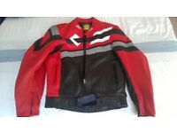 As new, motorcycle leathers