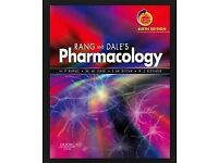 Rang and Dale's Pharmacology by Humphrey P. Rang, and Dale's sixth edition