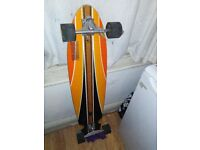 Pro longboard used about 5 times, reason I am selling it is because I just bought a new one.