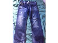 Men's true religion jeans waist 36 leg 34