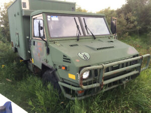1987 fiat military army 4x4, comes with parts trk