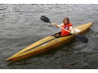 Gaybo International Combi Slipper Kayak lightweight glassfibre / canoe / (in Hotwells)