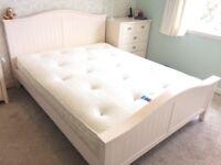 King Size Bed & Matrress