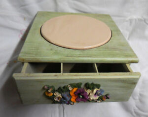 Plant box with drawers