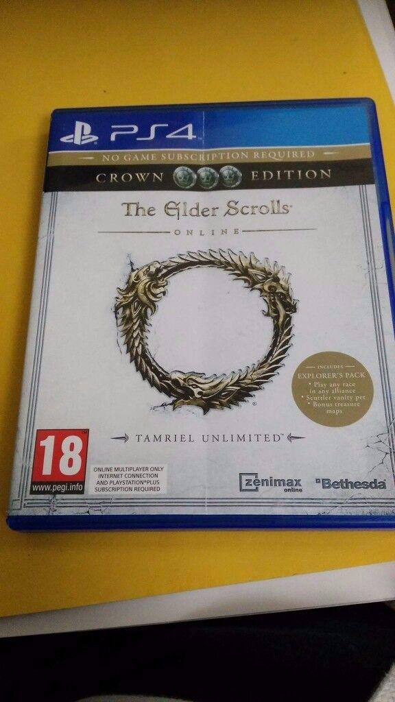 Elder Scrolls Online (ESO FOR PS4 ASAP) | in Salford, Manchester