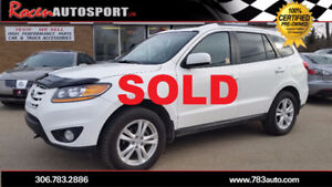 SOLD!!!CERTIFIED 2010 Santa Fe Limited  AWD - LEATHER - SUN