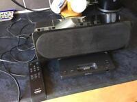Sony iPod / iPhone dock and speakers