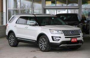 2016 Ford Explorer Platinum 4WD 6 Passenger Top of the Line Luxu