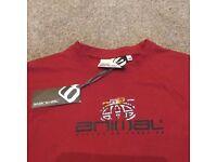 Animal T-Shirt Boys / Jasper Conran Jeans, Brand New