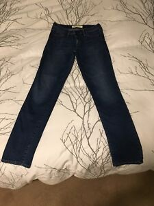 Women's Gap 1969 Real Straight Jeans size 27-EUC like new!