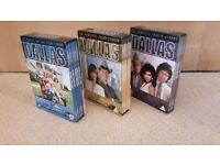Complete Season 1-10 boxsets of Dallas - excellent condition