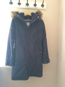 TNA Winter Jacket - size xs, Navy blue