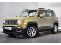 JEEP RENEGADE 1.6 M-JET LONGITUDE 5d 118 BHP (green) 2015