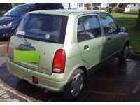 Daihatsu cuore 1999 5 door 989 engine