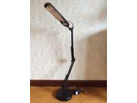 Black D33111 Daylight PL Desk Lamp