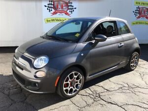 2015 Fiat 500 Sport, Automatic, Leather, Bluetooth
