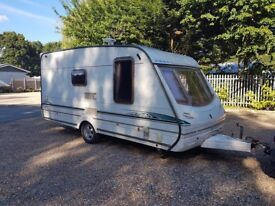 Abbey GTS Vogue 217 2 berth caravan VGC Awning LIGHT TOW TOW BARGAIN !