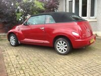 Low mileage convertible,10 months MOT