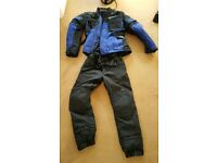 Hein Gericke motorcycle jacket and trousers